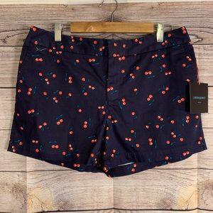 Cynthia Rowley Cherry Print Shorts